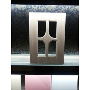 Европейский стиль мембраны ПВХ МДФ шкаф книга кабинета кухни дверь только