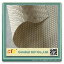 Tecido de poliéster tecido PVC janela protetor solar tela da protecção solar para cortinas de rolo