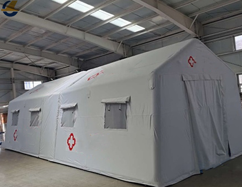 Outdoor relief tents