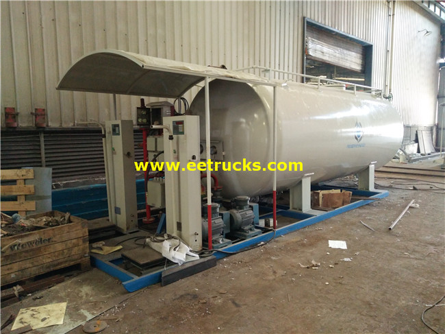 20000L 8ton LPG Skid-mounted Filling Plants