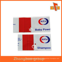 Kundenspezifische Hitze schrumpfen Shampoo Etikett für Flasche Verpackung mit Druck