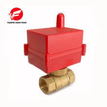 brass wireless remote control motorized valve for water