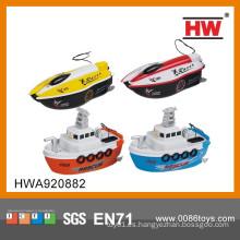 2015 más nuevo barco de control remoto de 4 canales 27 / 49MHZ para niños con certificado EN62115 / EN71