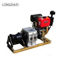 Gas Engine Powered Winch Cable Pulling Tools
