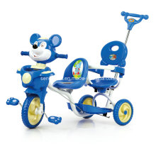 Good Selling Children Twin Tricycle with Two Seats (SNTR861D)