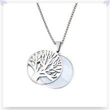 Joyería de perlas accesorios de moda joyería de acero inoxidable conjunto (js0224)