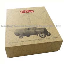 Caja de regalo de papel de lujo de cartón cosmético de lujo