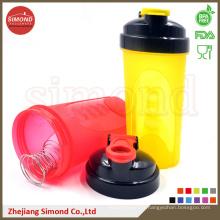 Bouteille de récipient de shaker de 600 ml 3 en 1, bouteille de shaker intelligent (SB6001)