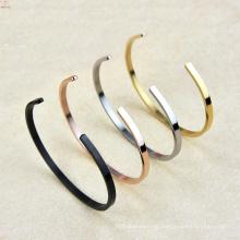 2017 C Typ elastisch einstellbar Titan Stahl Armband für Männer