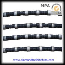 Diamond Wire Saw Cutting Marble Granite Calestones