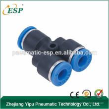 Conexiones plásticas del tubo de un solo toque de la unión plástica de China