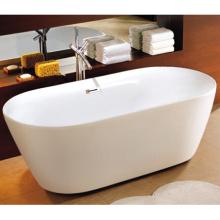 Trousse de baignoire autoportante ovale Sequana Acrylique 67