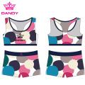 Fancy Design Sublimated Frauen Yoga Shorts