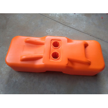 Water/Injection/Blow Molded Concrete Temporary Fence Feet