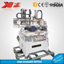 1-8 color semi-auto glass bottle screen printing machine