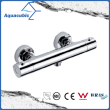 Bathroom Brass Chromed Anti-Scald Thermostatic Shower Faucet (AF4222-7)