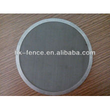 malla de alambre de filtro de borde cubierto (fábrica profesional)