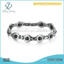 New stainless steel bracelet,eyes bracelet,mini bracelet