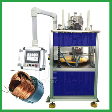 Three phase motor automatic stator coil insertion machine