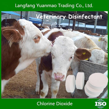 Veterinary Disinfectant with Chlorine Dioxide Tablet 10%