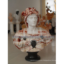 Stone Marble Sculpture Head Bust for Figurine Statue (SY-S311)