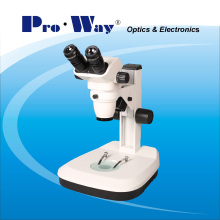 Professional 6.7X-45X Zoom Stereo Microscope with Incident & Transmitted Illumination (ZTX-PW6745)