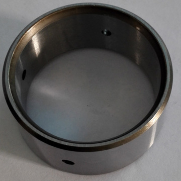 Casquilho de manga de mancal de aço com orifício de óleo