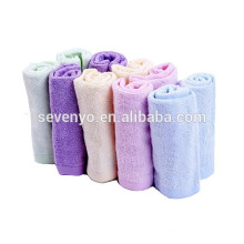 Toallas de bebé de fibra de bambú Toalla extra suave para bebé Absorbente de piel sensible y toallitas de bebé reutilizables Excelente juego de bebé