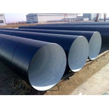 Black jacket insulation SSAW Steel Pipe