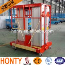 plataforma de elevação de material / de limpeza plataforma de elevação de plataforma de alumínio / de alumínio de limpeza plataforma de elevação ajustável
