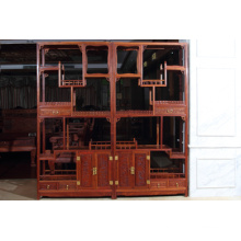 a Group Burma Padauk Antique Shelf with Ming Style