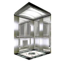 Ascensor de edificio de oficinas pequeño elevador de pasajeros usado en el hogar