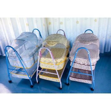 Berço do bebê berço dobrável cama infantil portátil fácil de instalar