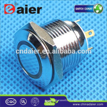 Daier GQ16F-10E Momentary LED Push Button Switch