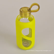 2015 new products healthy promotional water glass bottle