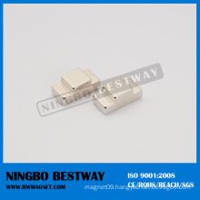 N35h Strong T Shaped NdFeB Magnet