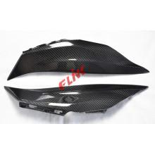 Painel lateral de assento traseiro de fibra de carbono para Kawasaki Zx10r 2016