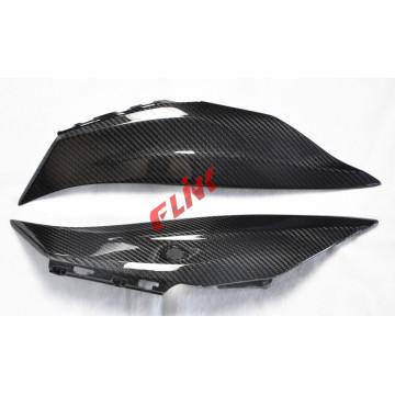 Panel lateral de asiento trasero de fibra de carbono para Kawasaki Zx10r 2016