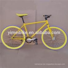 billig örtlich festgelegtes Zahnrad Fahrrad / fixie Fahrrad / örtlich festgelegter Gang Fahrradgroßhandel