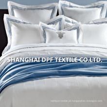 100% algodão bordado jogo de cama (dph6091)