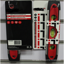 Topedo Spirit Level with 3vails (700108-red)