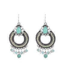 2015 Hot Sale Good Quality Beautiful Fashion Alloy Ethnic Stud Earrings