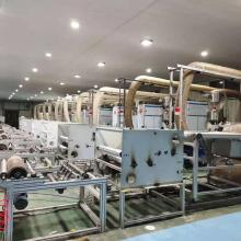 Spunbond non woven fabric product making facility