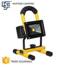 Aluminum outdoor portable led flood light with tripod stand