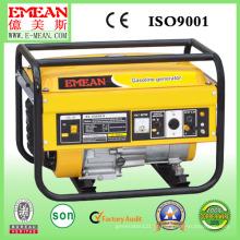 Gerador elétrico silencioso refrigerado a ar de 2kw da gasolina