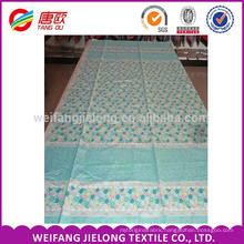flowers cheap printing 100 % cotton for cotton bedding fabric