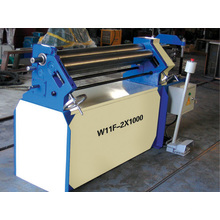 W11f-1.5X1300 Steel Plate Bending and Rolling Machine