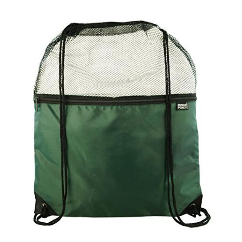 Ensign Peak Mesh Drawstring Backpacks