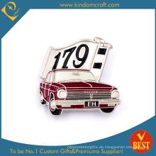 Eh 179 Car Form Zinn Button Abzeichen in Red Backdrop für Gegenwart