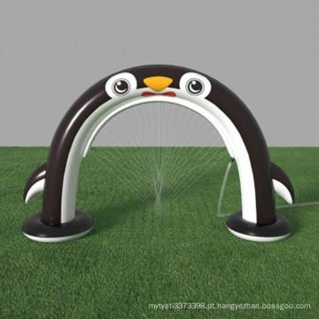 Pinguim inflável de sprinkler